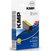 KMP E171 Druckerpatrone - ersetzt Epson T2614 - 330 Seiten 7,0ml Yellow