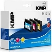 KMP H101V (ersetzt HP No. 951XLC,M,Y) - Multipack Tinten Druckkopf je 1.500 Seiten Cyan, Magenta, Yellow