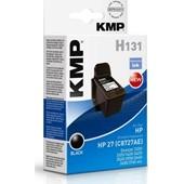 KMP H131 Refill Tintendruckkopf (ersetzt HP No.27-C8727A) 10ml Schwarz
