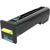 Lexmark XC 8160 - Toner 24B6512 - 50.000 Seiten Cyan
