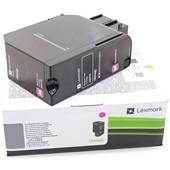 Lexmark Toner 78C20M0 1.400 Seiten Magenta