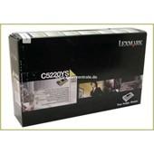 Lexmark C522 524 534 - Toner C5220YS Gelb 3.000 Seiten