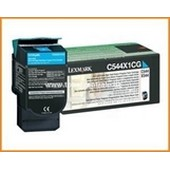 Lexmark C, X544 - Toner C544X1CG - 4.000 Seiten Cyan