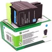 Lexmark CX310, 410, 510 Toner 80C20C0 Toner Cyan 1.000 Seiten