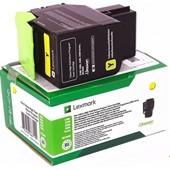 Lexmark CX310, 410, 510 Toner 80C20Y0 Toner Yellow 1.000 Seiten