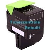Rebuilt Toner (ersetzt Lexmark 802SK) 2.500 Seiten Schwarz