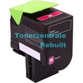 Rebuilt Toner (ersetzt Lexmark 802SM) 2.000 Seiten Magenta