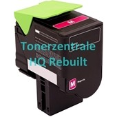 Rebuilt Toner Lexmark 802HM 3.000 Seiten Magenta