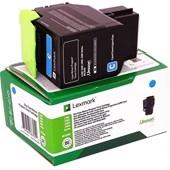 Lexmark CX310 410 510 - Toner 802XC - 4.000 Seiten Cyan
