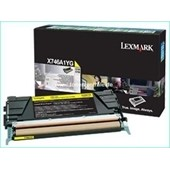 Lexmark X746 X748 - Toner X746A1YG 7.000 Seiten Yellow