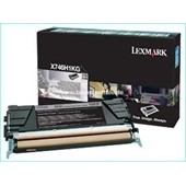 Lexmark X746 X748 - Toner X746H1KG 12.000 Seiten Schwarz