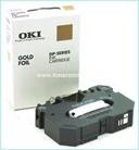 OKI DP5000/7000 (41067608) Thermotransferband Gold Foil <font color=orange>ACHTUNG! Artikel eingestellt. M&#246;gliche Alternativen bitte anfragen!</font>