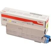 OKI C532, MC573 - Toner 46490605 Yellow 6.000 Seiten
