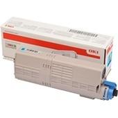 OKI C532, MC573 - Toner 46490607 Cyan 6.000 Seiten