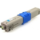 Oki C310 MC361 Rebuilt Toner 44469706 - 2000 Seiten Cyan