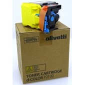 Olivetti D-Color P 3100 - Toner B1122 - 5.000 Seiten Yellow