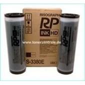 Risograph RP-HD 3700-3790 - Tinte S4386E (alt: S3380) 2 x 1000ml Schwarz