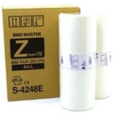 Riso RZ200 300 - Master S4248E Typ 70 600dpi - A4 (2 Rollen)