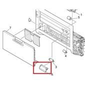 OKI 45224501 Manueller Schacht Separator Pad